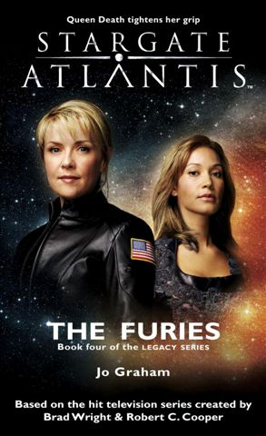 SGA-19 STARGATE ATLANTIS: The Furies cover